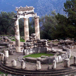 delphi, the Ancient Center of the World