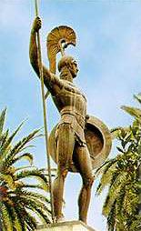 Achilles, the main hero of the Trojan War