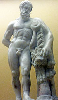 statue pictures of heracles